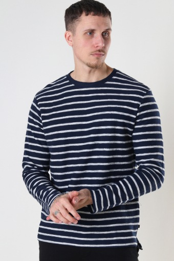 Richard Organic Sweat Navy / Ecru