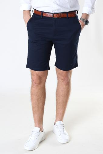 Milano Drake Stretch Shorts Navy
