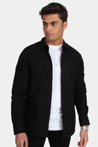 TB297 Checked Flanell Overhemd Black/Black