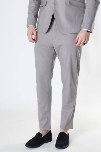 Milano Cotton Linen Pants Grey