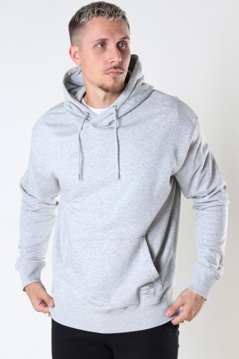 SDMason Hood Light Grey Melange