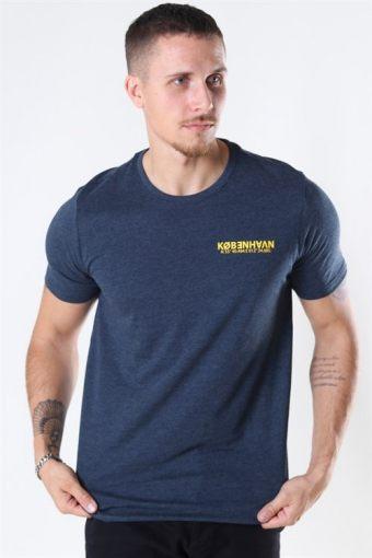 Matti SS T-shirt Insignia Blue