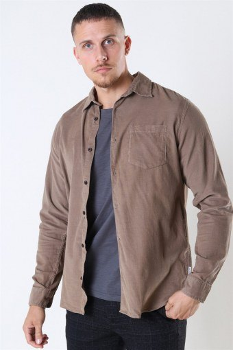 Jack & Jones Kendrick LS Overhemd Sepia Tint