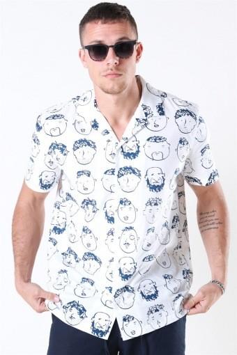 Rix Cuba Overhemd White