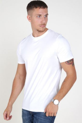 Organic Basic Tee SS O-Neck Noos White