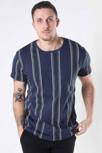 Larry Organic Tee Navy