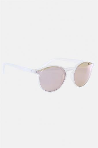 Fashion 1384 Zonnebril Matt Transparent Clear Lens w/Blue Mirror