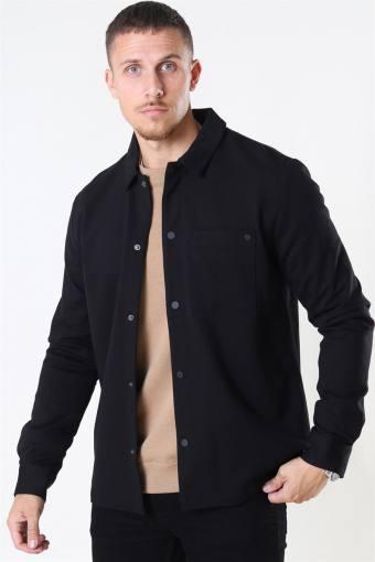 Clean Cut Alexander Overshirt LS Black
