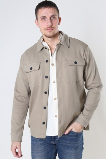 ONSchoenDYL OVERSHIRT SWEAT Chinchilla