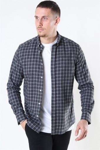 Clean Cut Sälen Flannel 2 Overhemd Antrasit