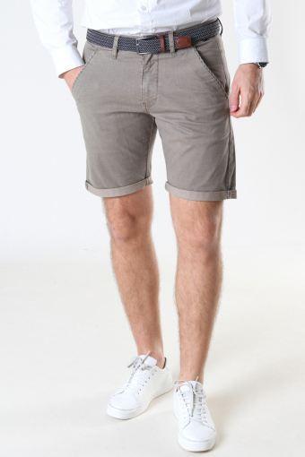 Louis Greige Shorts inkl. Riem