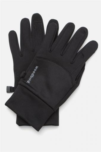 Sly Logo Handschoenen Black
