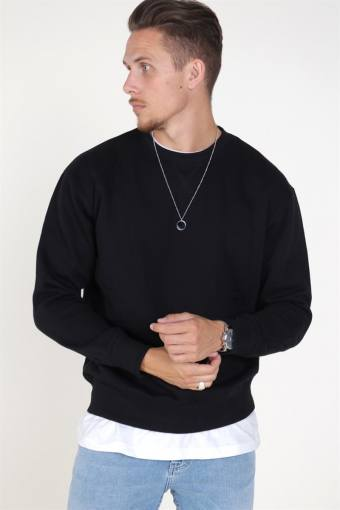 Soft Sweat Crew Neck Black