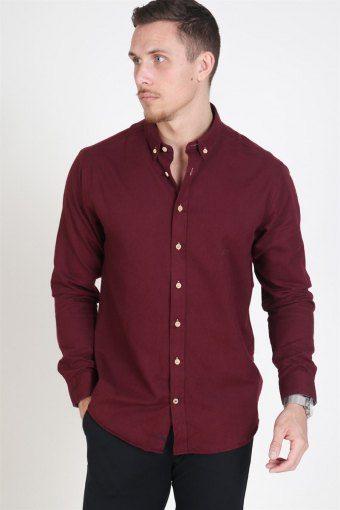 Johan Diego Overhemd Bordeaux