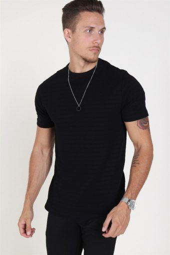 Jack & Jones Gerard Bla. Crew Neck T-shirt Black