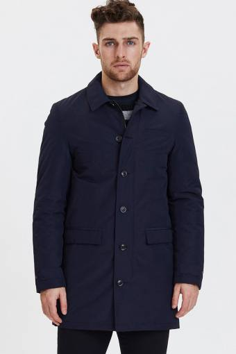 Eric Maccoat Lange Jas Dark Navy