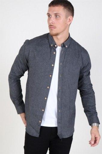 Johan Diego Overhemd Dark Grey