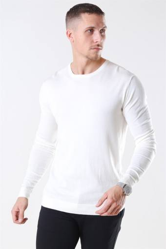Tailored & Originals Mont Breien O-Neck Milky White