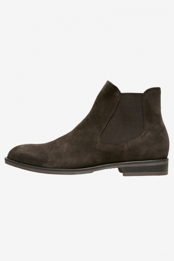Louis Suede Chelsea Boots Demitasse
