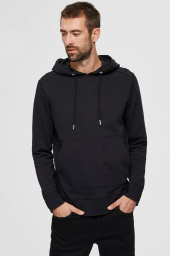 SLHJACKSON380 HOOD SWEAT S NOOS Black