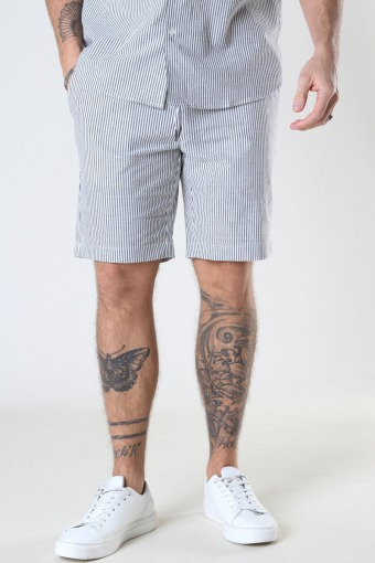 Barcelona Otto Shorts White / Grey