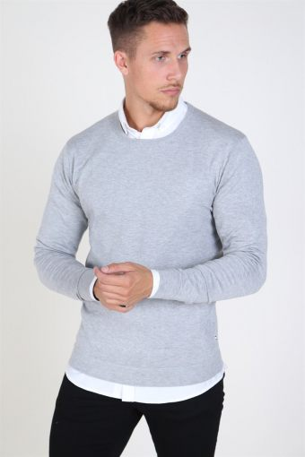 Tailored & Originals Mont Breien Light Grey Melange