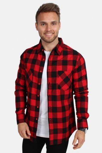 Tb297 Overhemd Red/Black