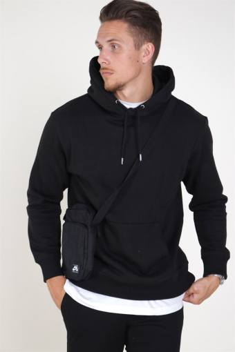Soft Sweat Hood Black
