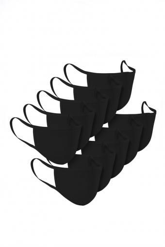 Mondstuk 10-Pack Black