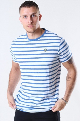 Navey-Recycled Cotton T-shirt Ocean