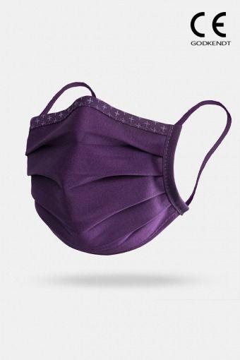 ISchoen Vital Supreme Line Face Cover Purple