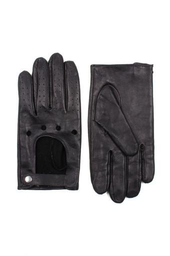 Men Driving Handschoenen Black