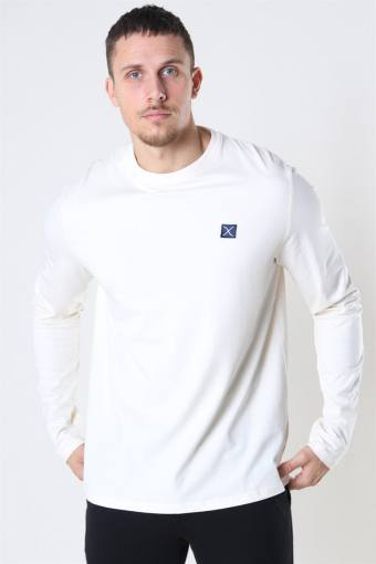 Clean Cut Basic Organic T-shirt LS Ecru