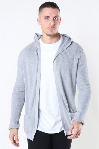 Breien Cardigan Light Grey Melange