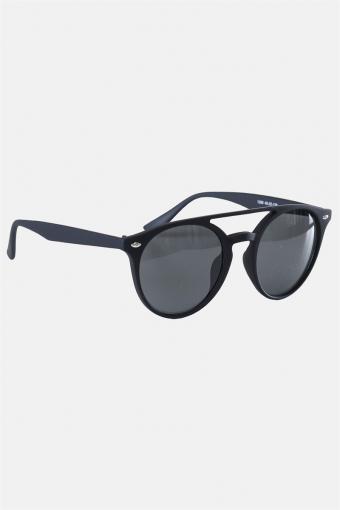 Fashion 1388 Mat Black Zonnebril Grey Linse