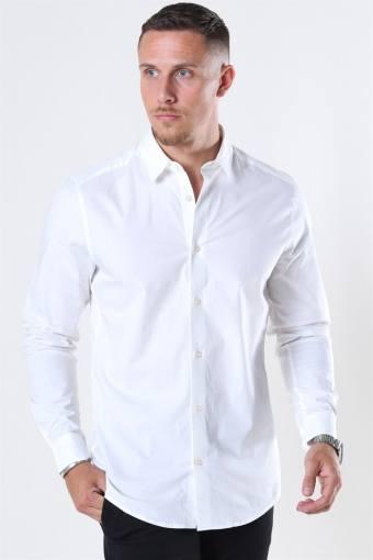 Bart Life LS Organic Overhemd Noos White