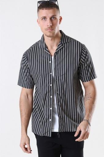 Ross Overhemd S/S Black