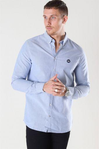 Johan Oxford Overhemd Light Blue