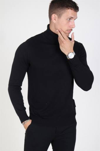 Jack & Jones Emil Turtleneck Strik Black