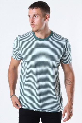 Tailored & originals Rally SS T-shirt Smoke Pine