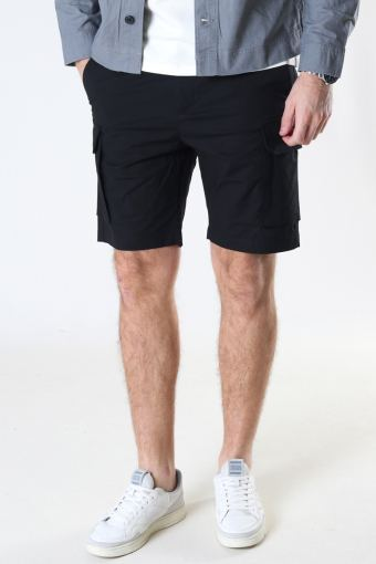 Milano Ripstop Stretch Shorts Black