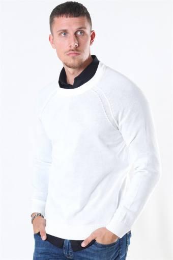 Luno O-neck Breien Off White