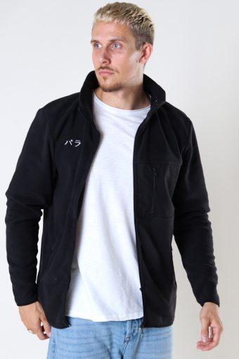 DPFleece Zip Jacket 001 Black