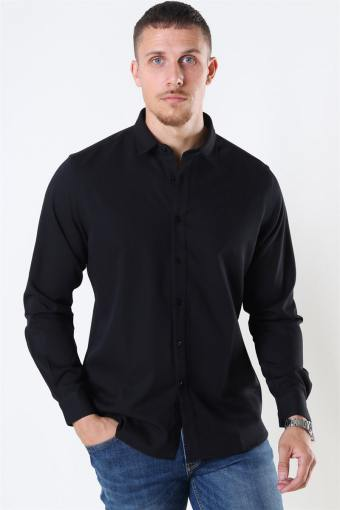 Clean Cut Maxime Overhemd L/S Black