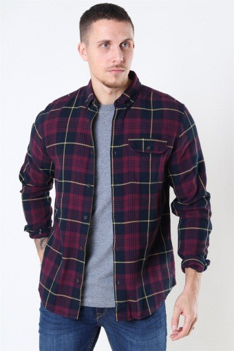Jack & Jones Emmerson Overhemd LS Port Royale