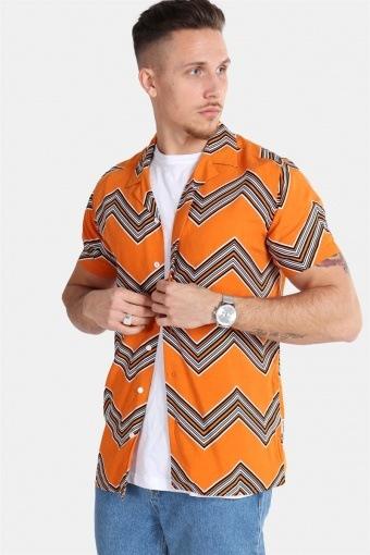 Jonathan Overhemd Trend Hawaiian Sunset