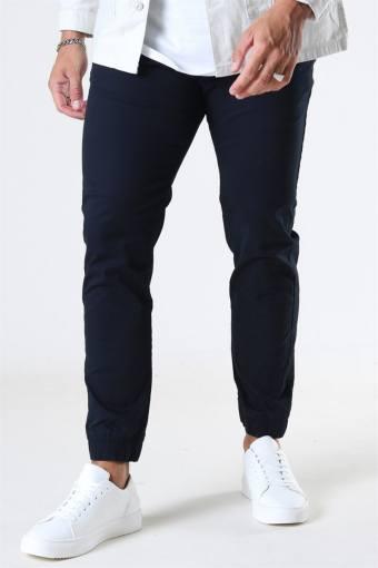 Slim-Truc Cuff Pants Black