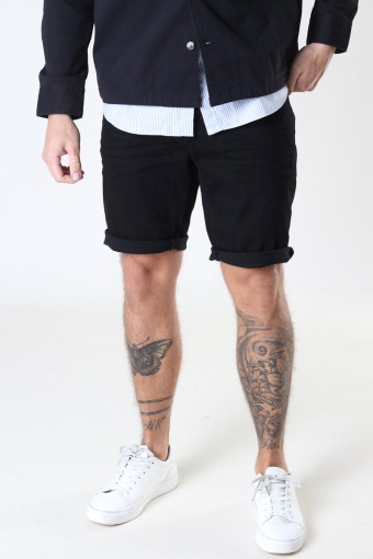 Chris Stretch Shorts 1001 1001 Black Denim