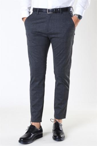 Clean Cut Milano Ken Pants Dark Grey/Camel