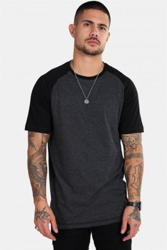 Raglan Tee Antracit/Black